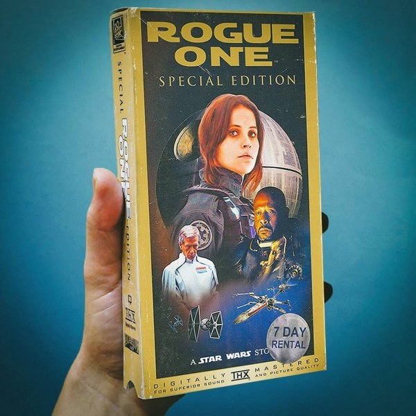 rogue one vhs