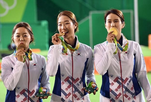 medallas koreanas