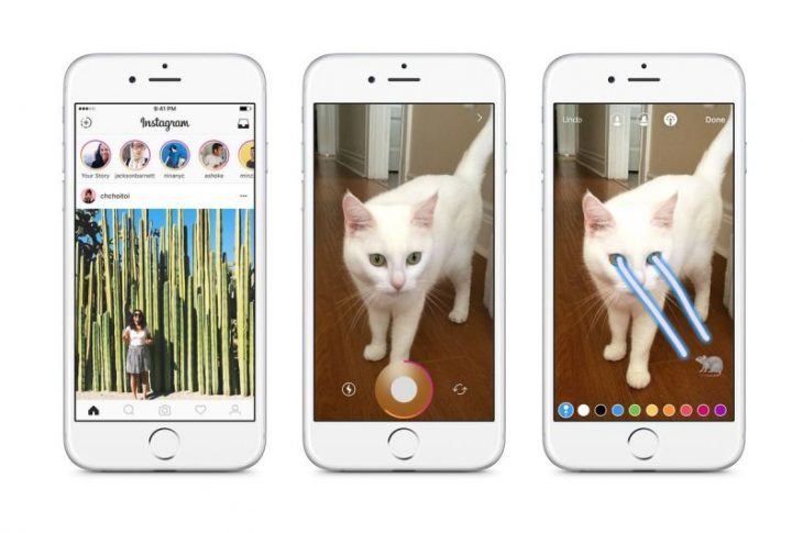 Instagram Stories, función parecida a Snapchat
