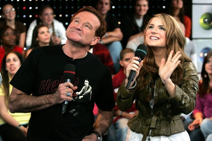 Jojo y Robin Williams en programa de Tv