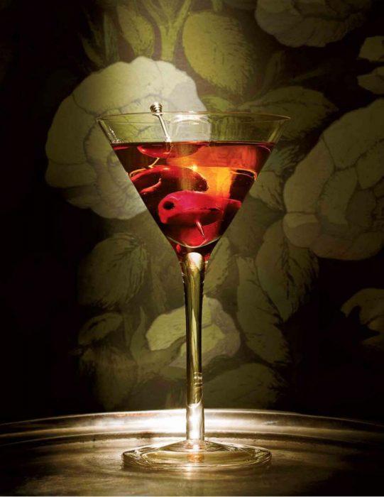 Un Manhattan listo para beber