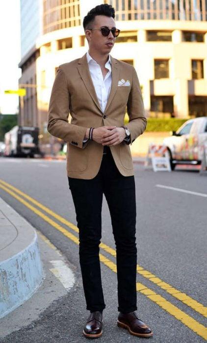 pantalon camisa saco formales