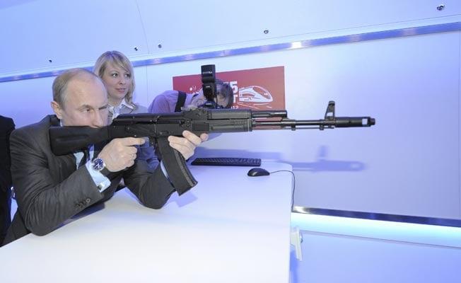 rifle putin