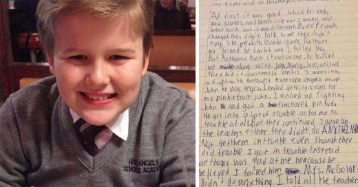 Padre se atreve a publicar la Carta Suicida de su hijo de 13 años para combatir el Bullying