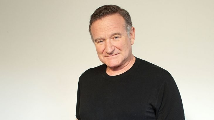 Robin Williams con camiseta negra