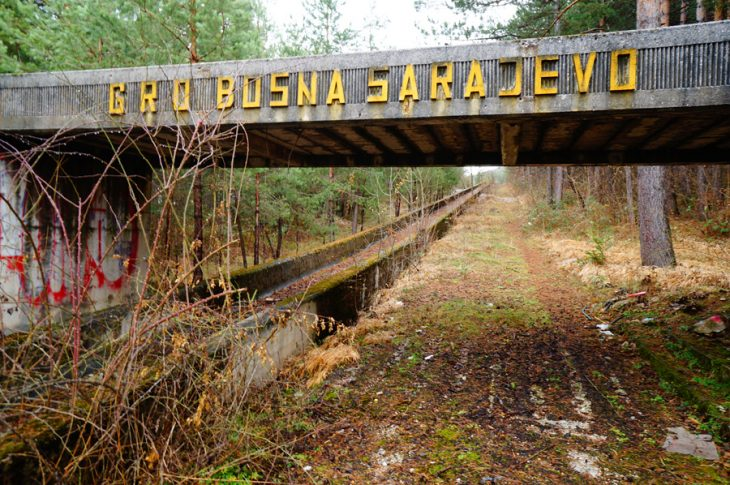 Pista de Bobsled de Sarajevo 84