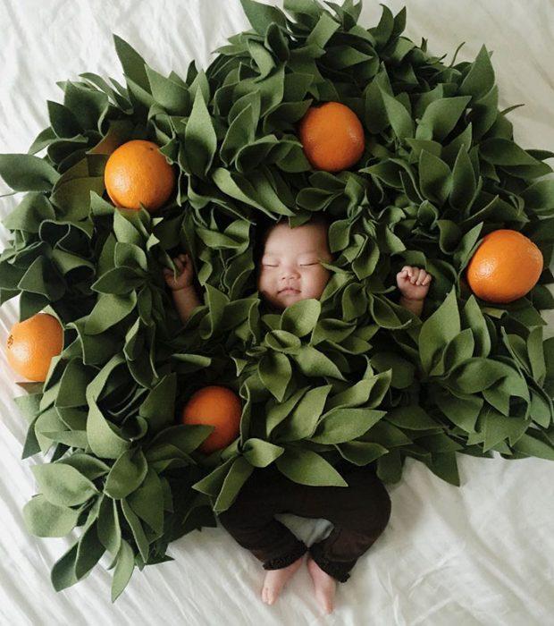 naranja bebe