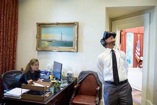 the offce obama