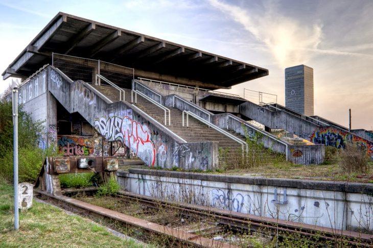 Estación de tren en Munich
