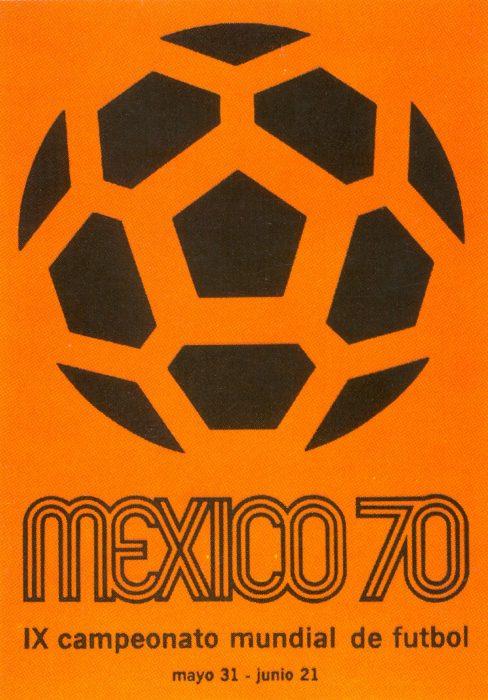 Cartel del Mundial México 70