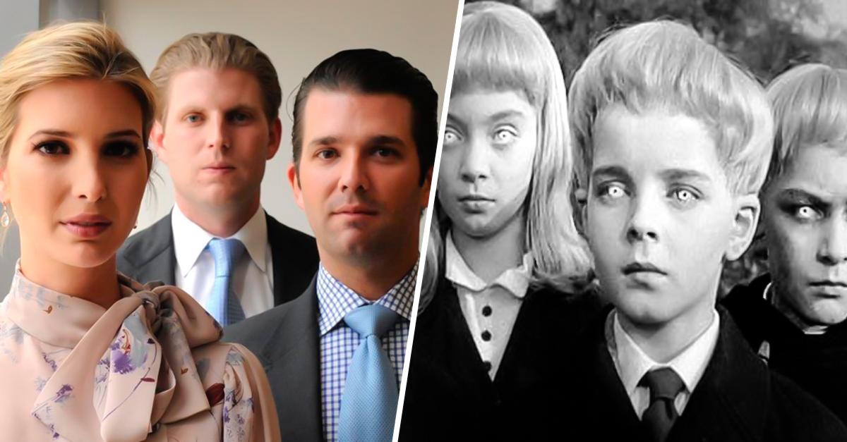 Trollean a los hijos de Donald Trump en internet