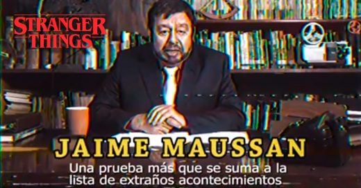 COVER Jaime Maussan en Stranger Things