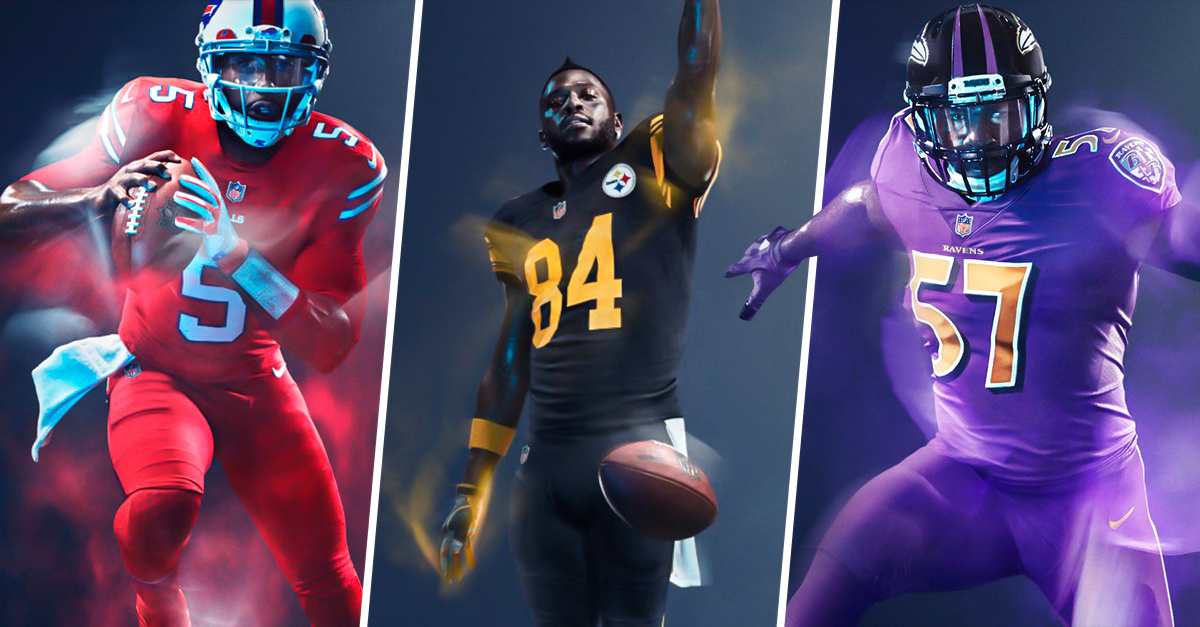 Presenta la NFL los nuevos uniformes en Color Rush