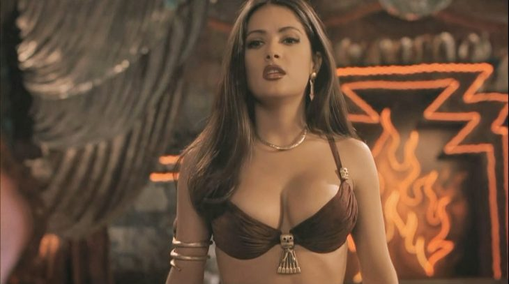 salma hayek from dusk till dawn song