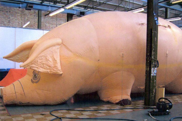 Algie, el cerdo inflable de Pink Floyd