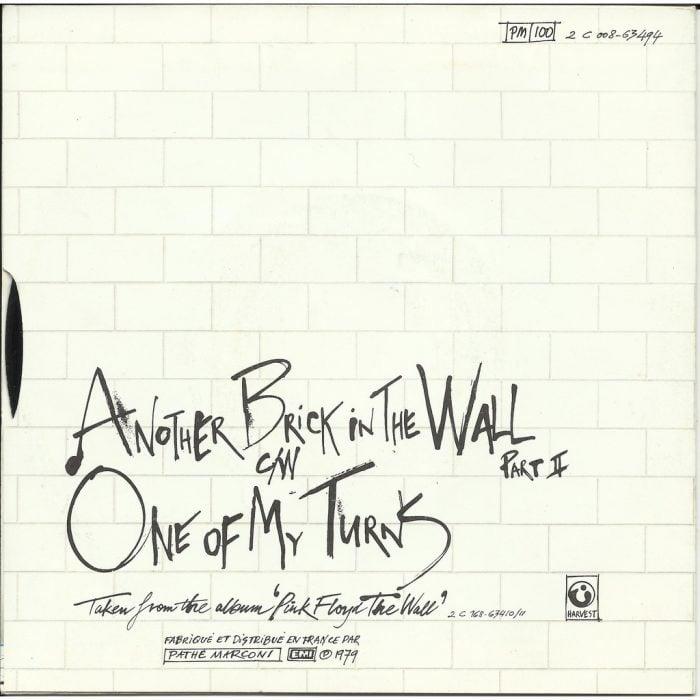Sencillo de Another Brick in the Wall