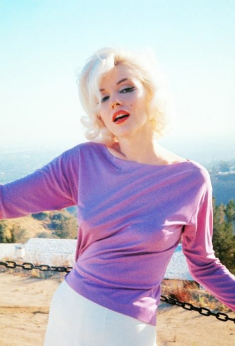 Marilyn Monroe a color
