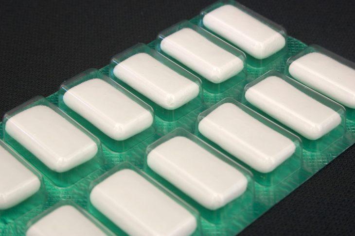 Paquete de goma de mascar