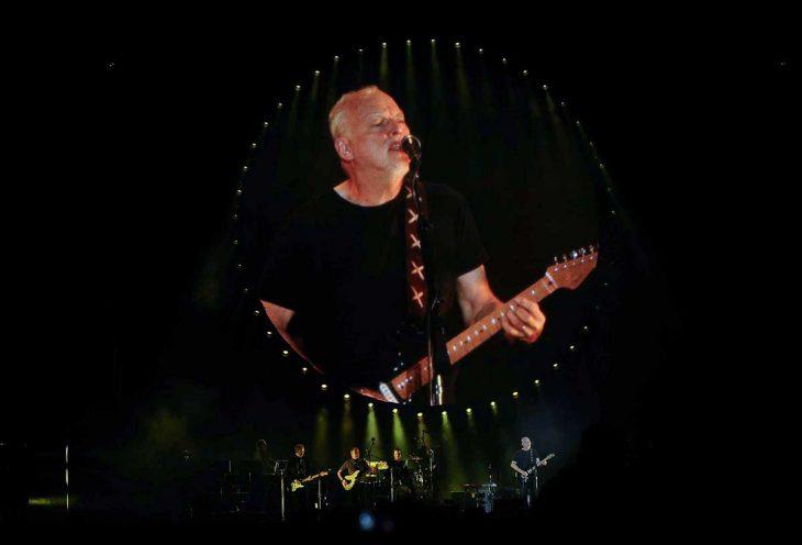 David Gilmour en concierto
