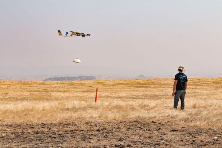 Drones entregan burritos de Chipotle