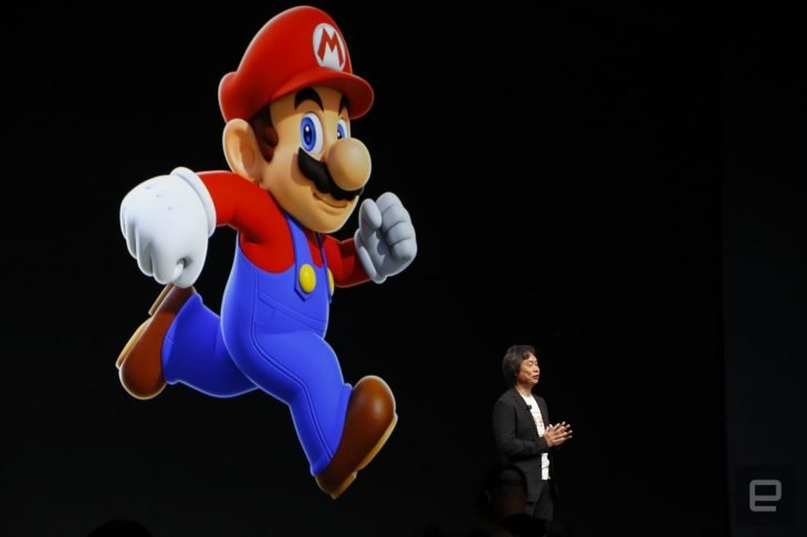 Sigheru Miyamoto super mario run