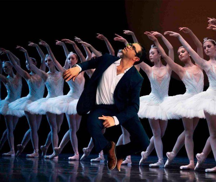 bailarinas y hombre photoshop