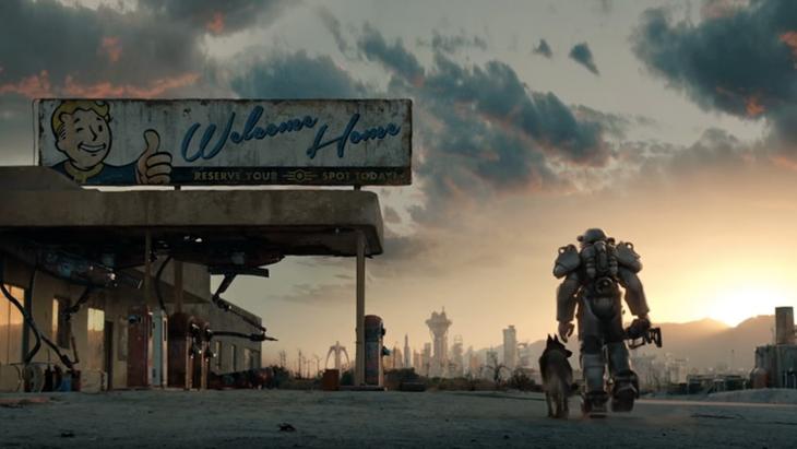 Escena de Fallout 4