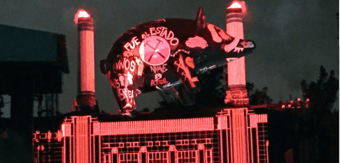 Cerdo de Pink Floyd en México