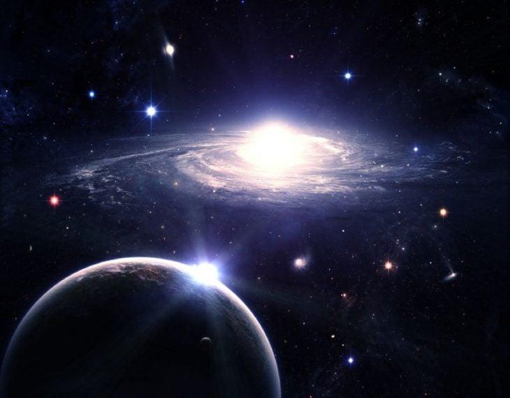 Vista de una parte de la galaxia