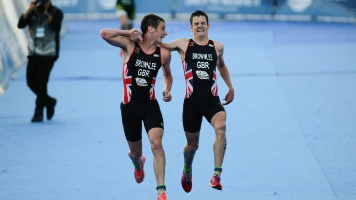 Alistair y Jonathan Brownlee