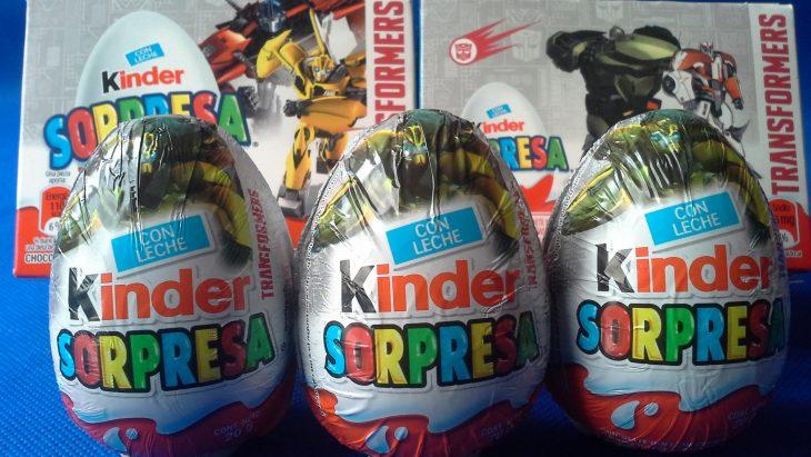 Huevos Kinder Sopresa