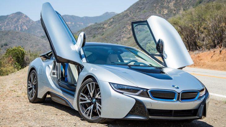 BMW i8 un súper auto de lujo