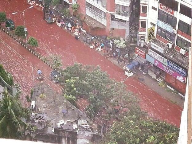 sangre calles