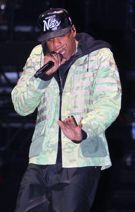 Jay Z en el escenario