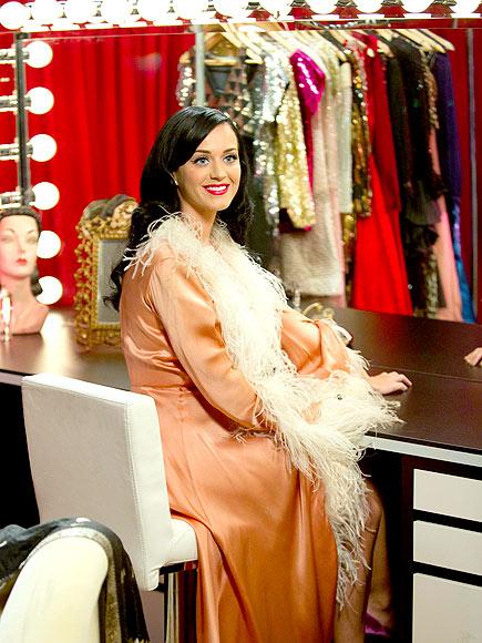 Katy Perry en el camerino