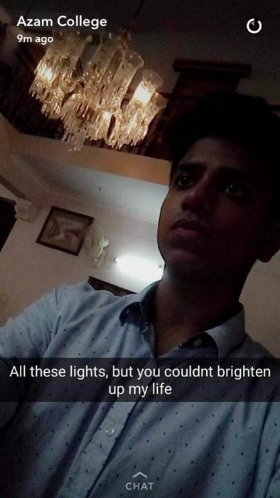 luces snapchat