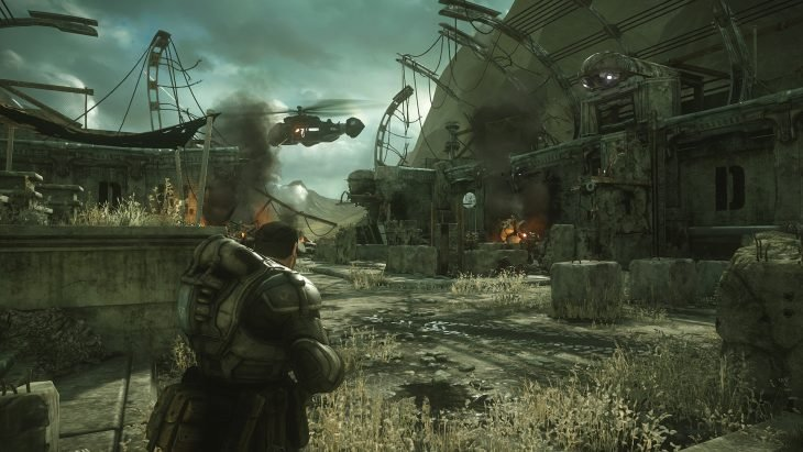 Escena de Gears of War