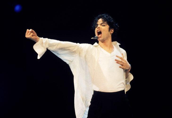 Michael Jackson en el escenario