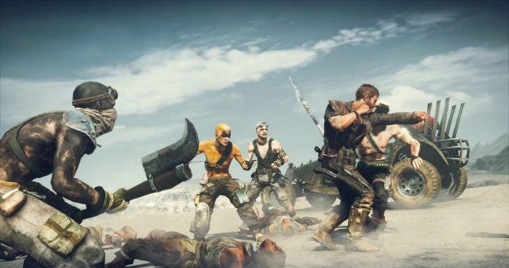 Escena del videojuego de Mad Max