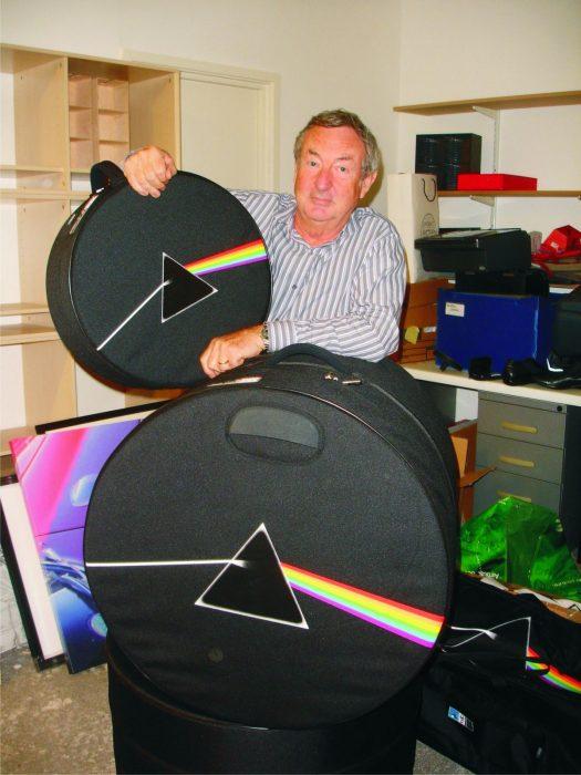 Nick Mason, baterista de Pink Floyd