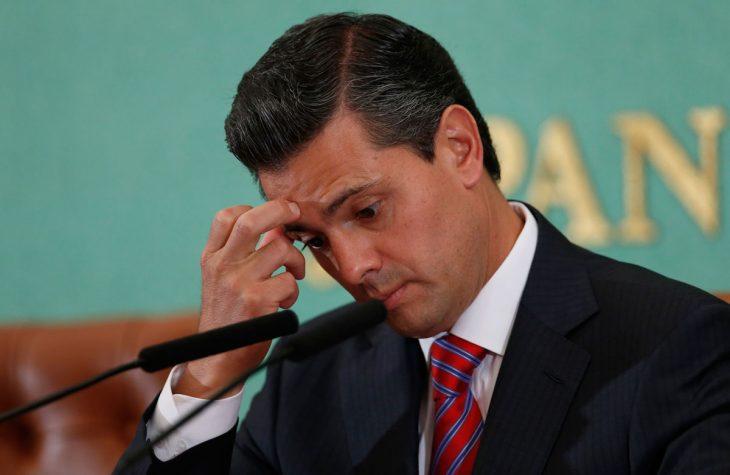 Peña Nieto se rasca la cabeza