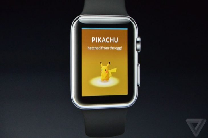Pokémon Go en reloj de Apple