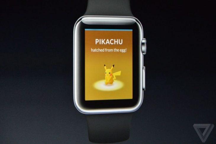 Pokémon Go en reloj de Apple
