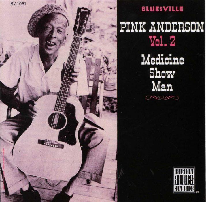 Portada del disco de Pink Anderson