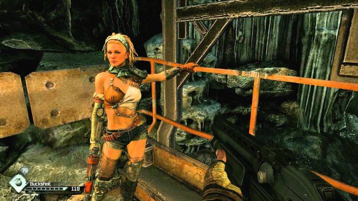 Escena del videojuego Rage