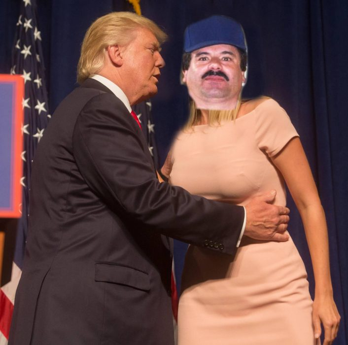 Donald e Ivanka Trump