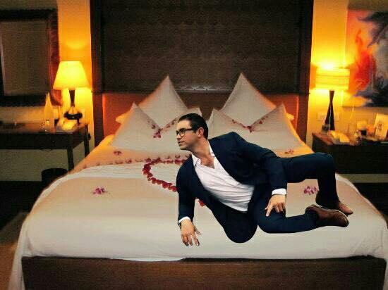 cama rosas