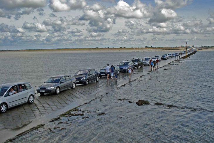 carros en fila