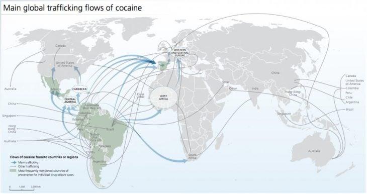 trafico de cocaina