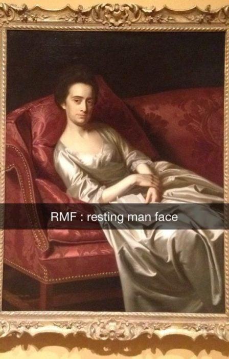 mujer snapchat